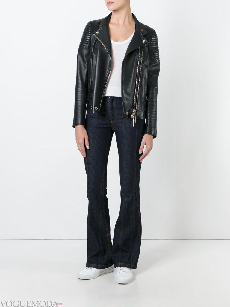 джинсы в ретро стиле темные