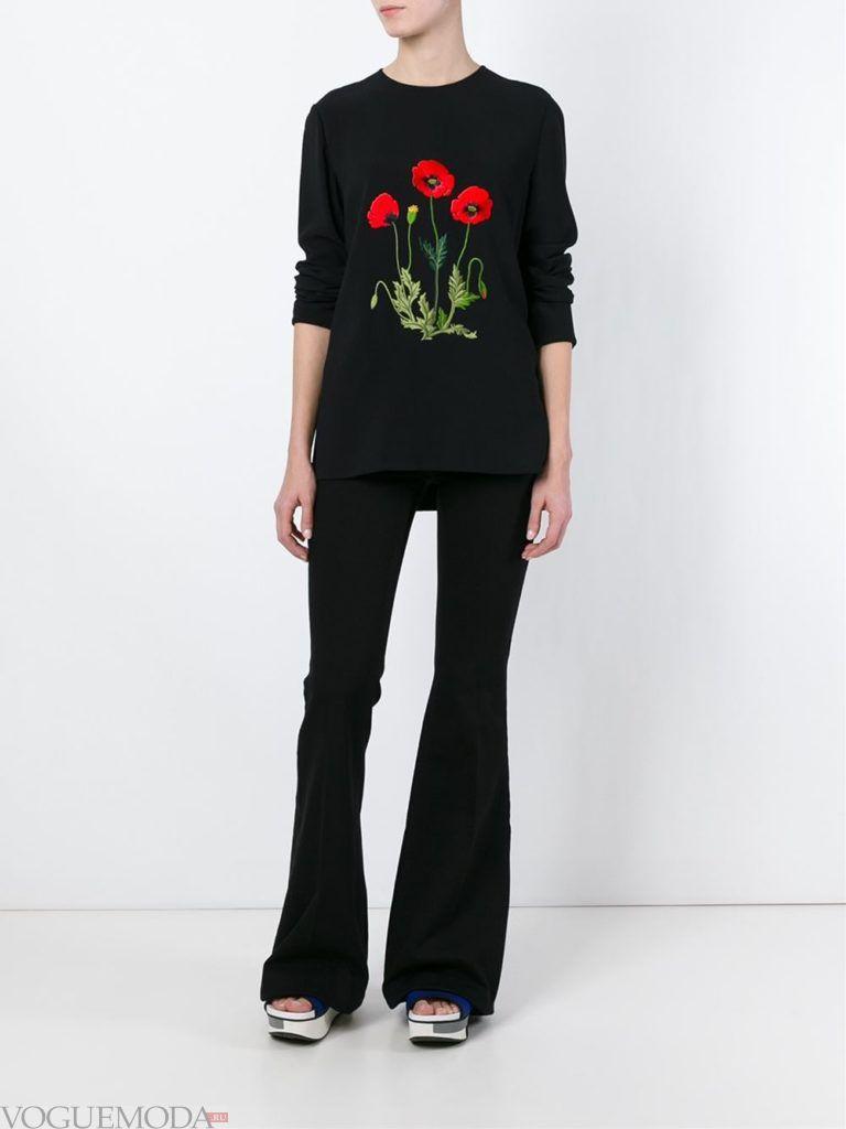 джинсы в ретро стиле черные