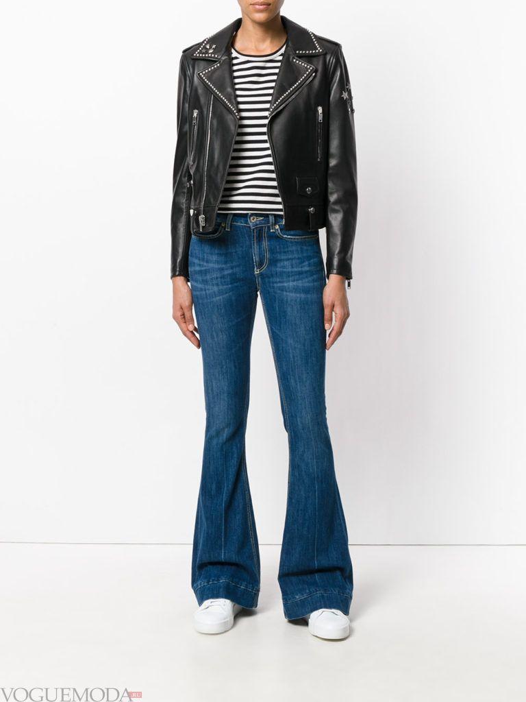 джинсы в ретро стиле модные