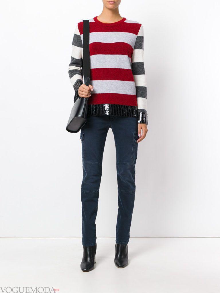 классические женские джинсы серые
