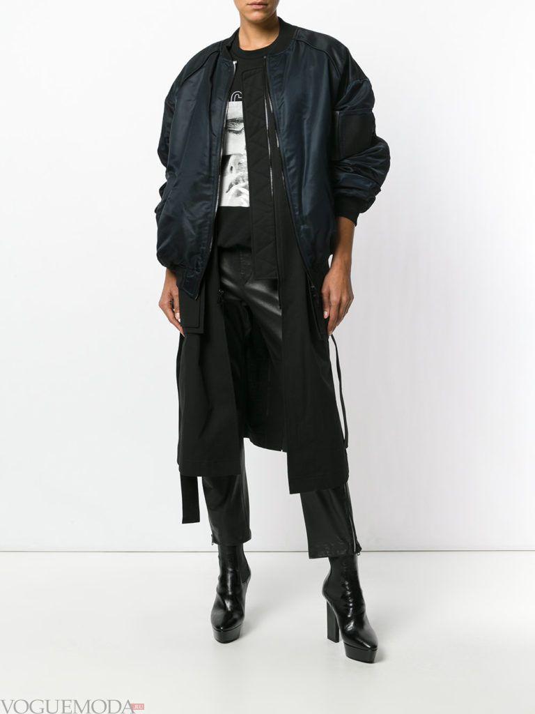 женская многослойная куртка бомбер