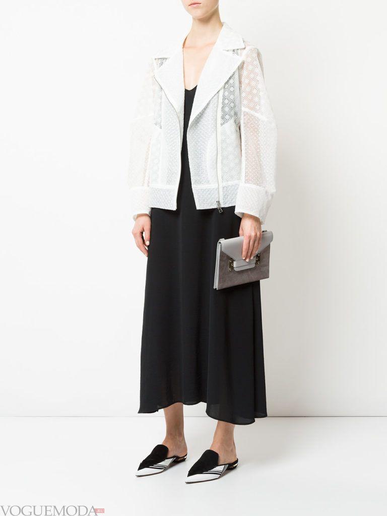 женская объемная куртка белая
