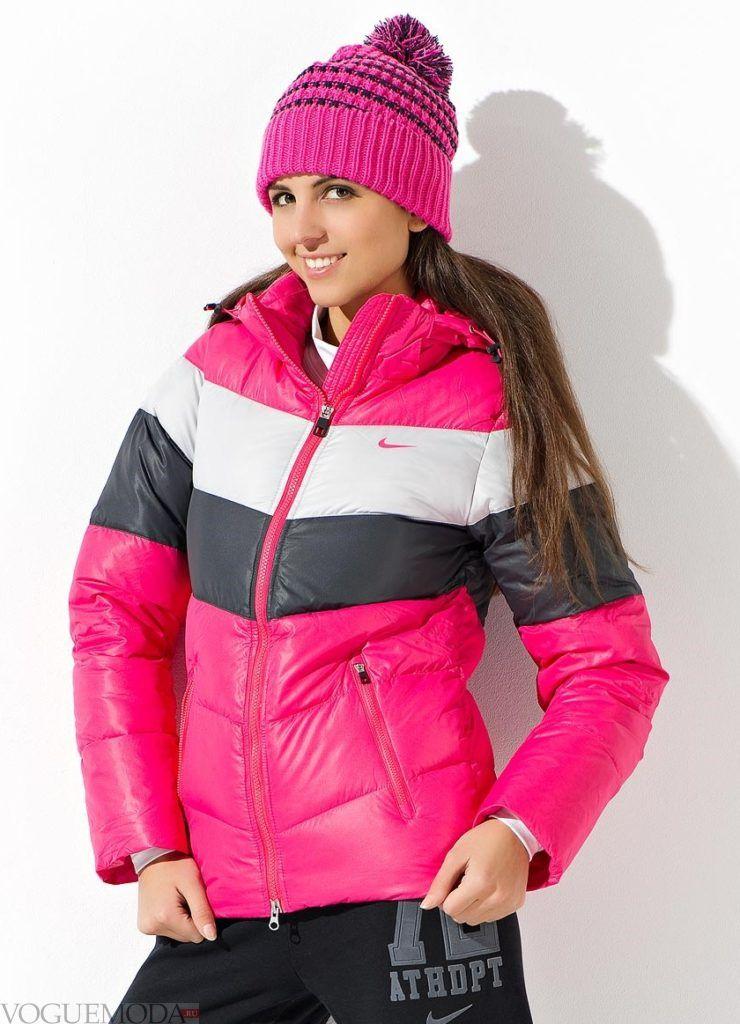 женская спортивная куртка яркая