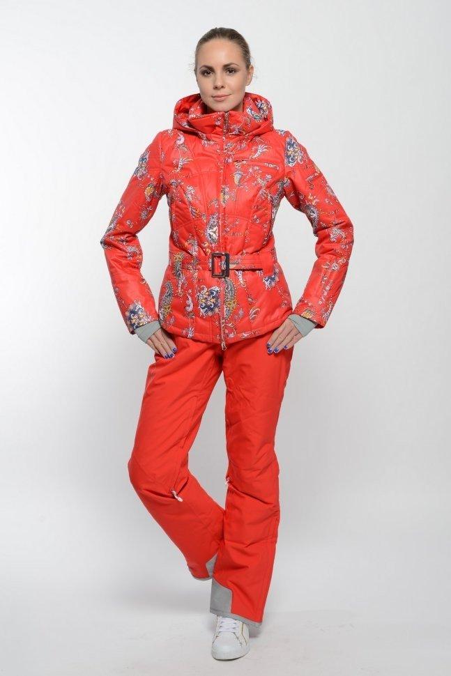 женская спортивная куртка с принтом