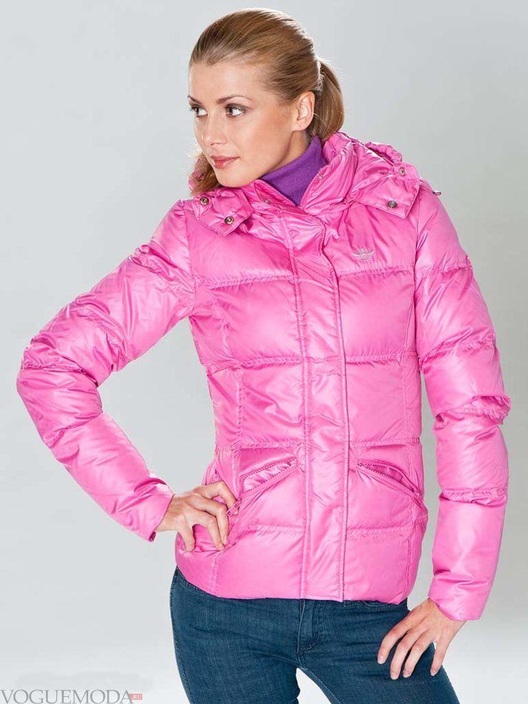 женская спортивная куртка фиолетовая