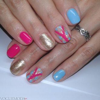 ногти яркие