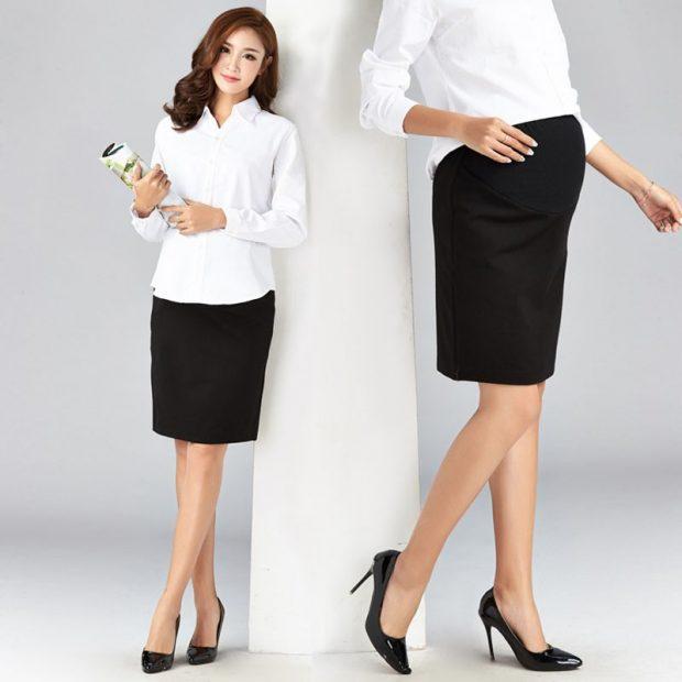 офисная одежда для беременных комплект