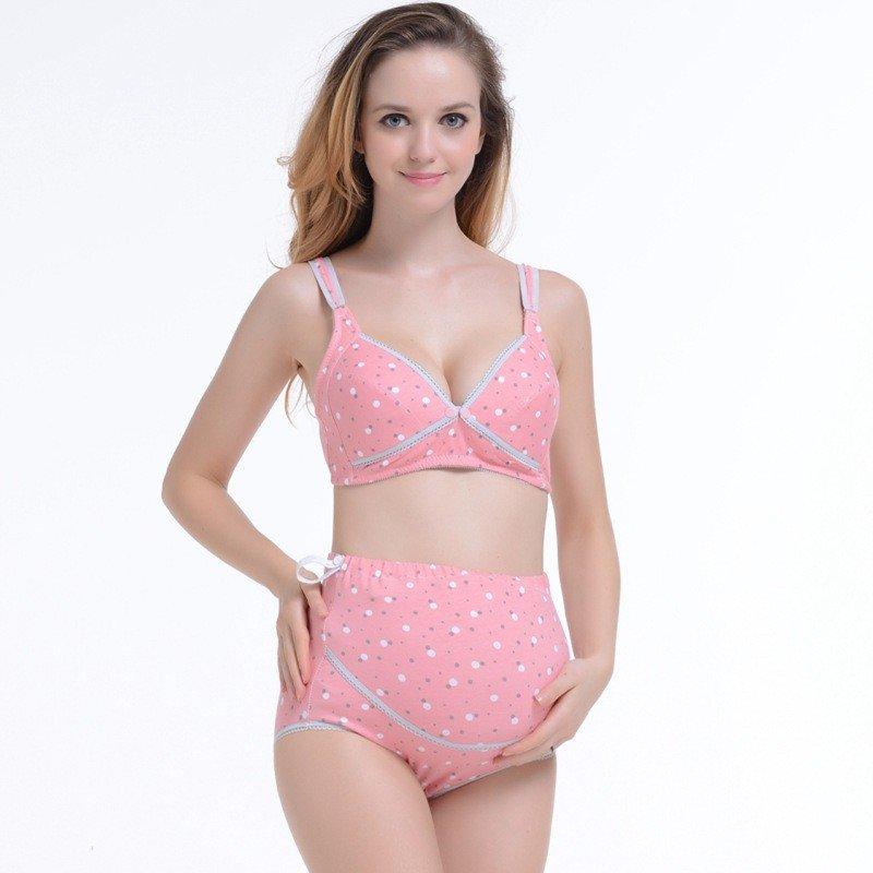 нижние белье для беременных розовое