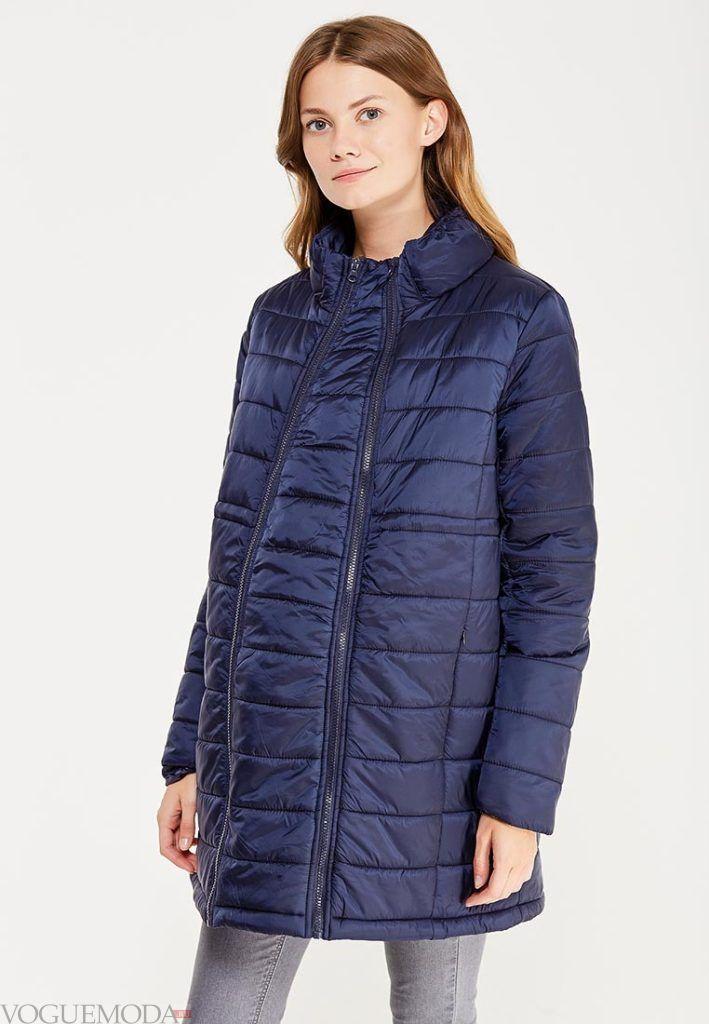 синяя куртка для беременных