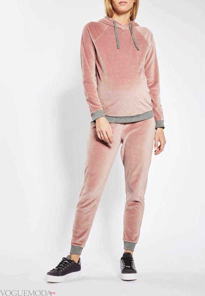 розовый спортивный костюм для беременных