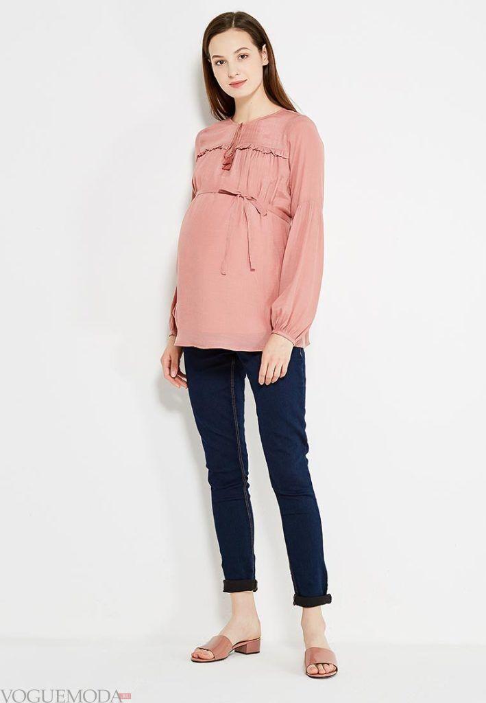 повседневная блуза для беременных