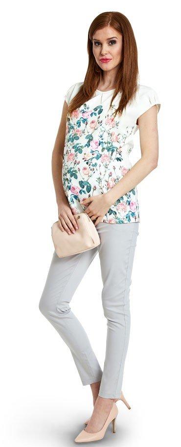 повседневный комплект с брюками для беременных