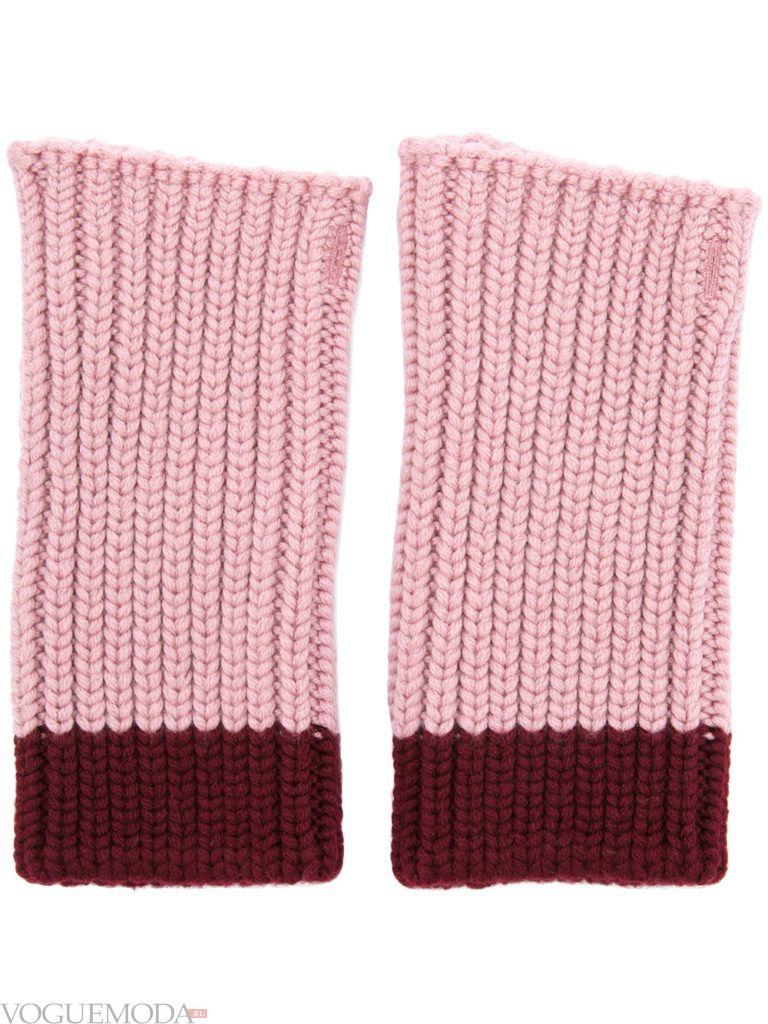 перчатки без пальцев яркие