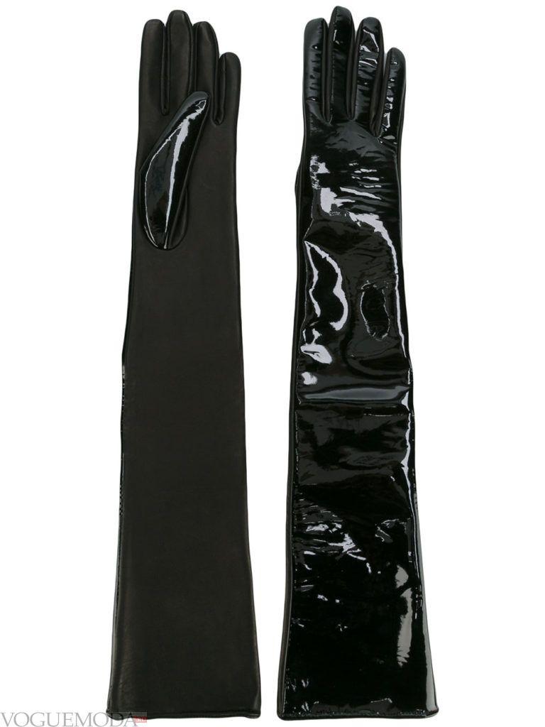 необычные перчатки комбинированные
