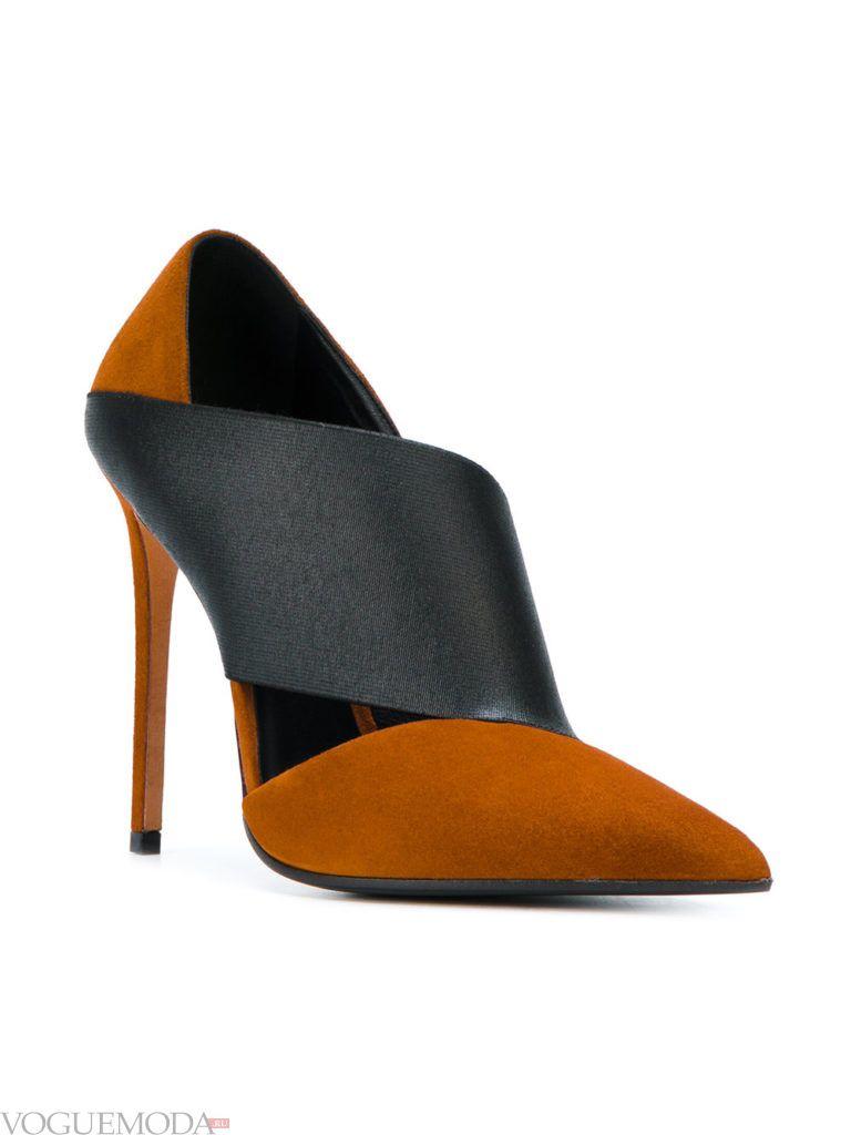 модные новогодние цветные туфли
