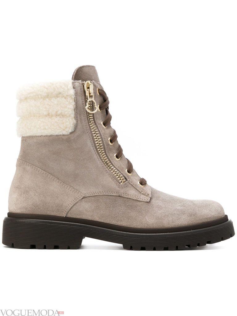 ботинки на шнурках для новогоднего экстремального отдыха