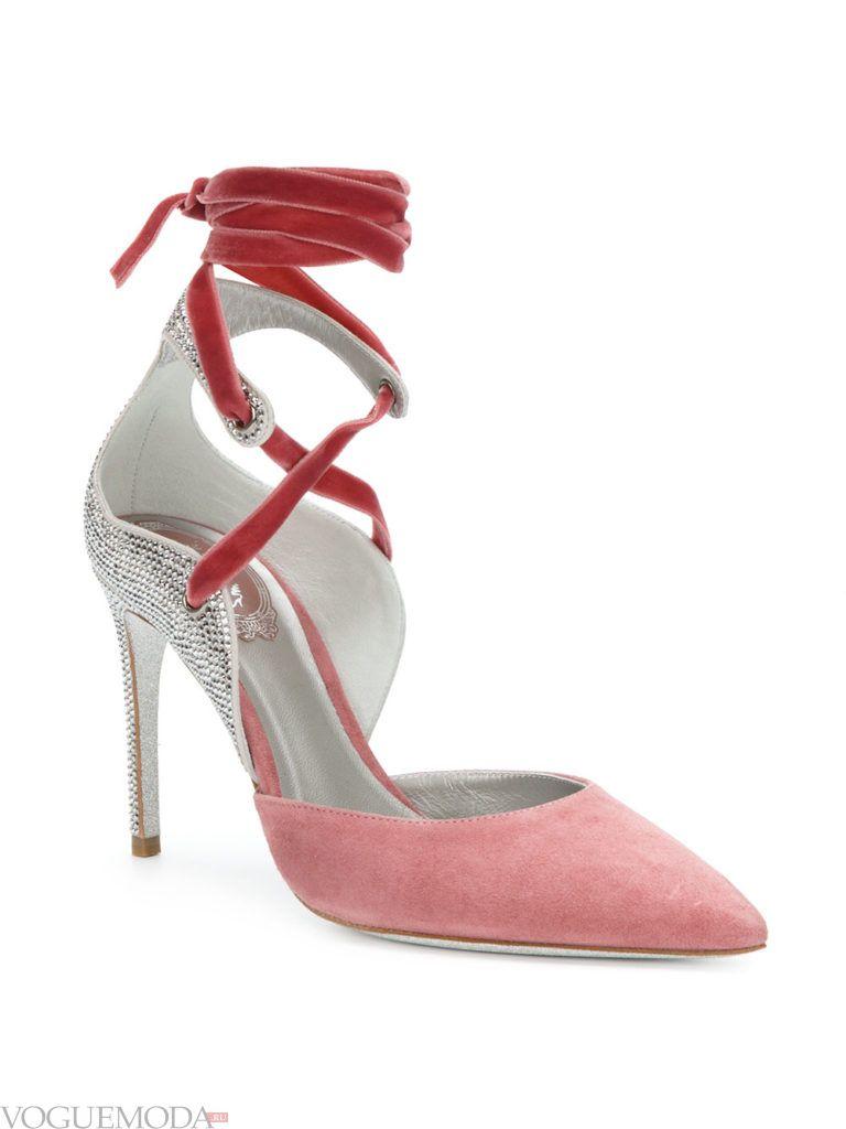 новогодние необычные цветные туфли