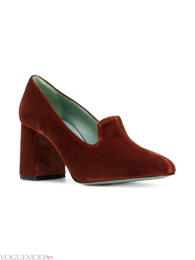 новогодние туфли коричневого цвета
