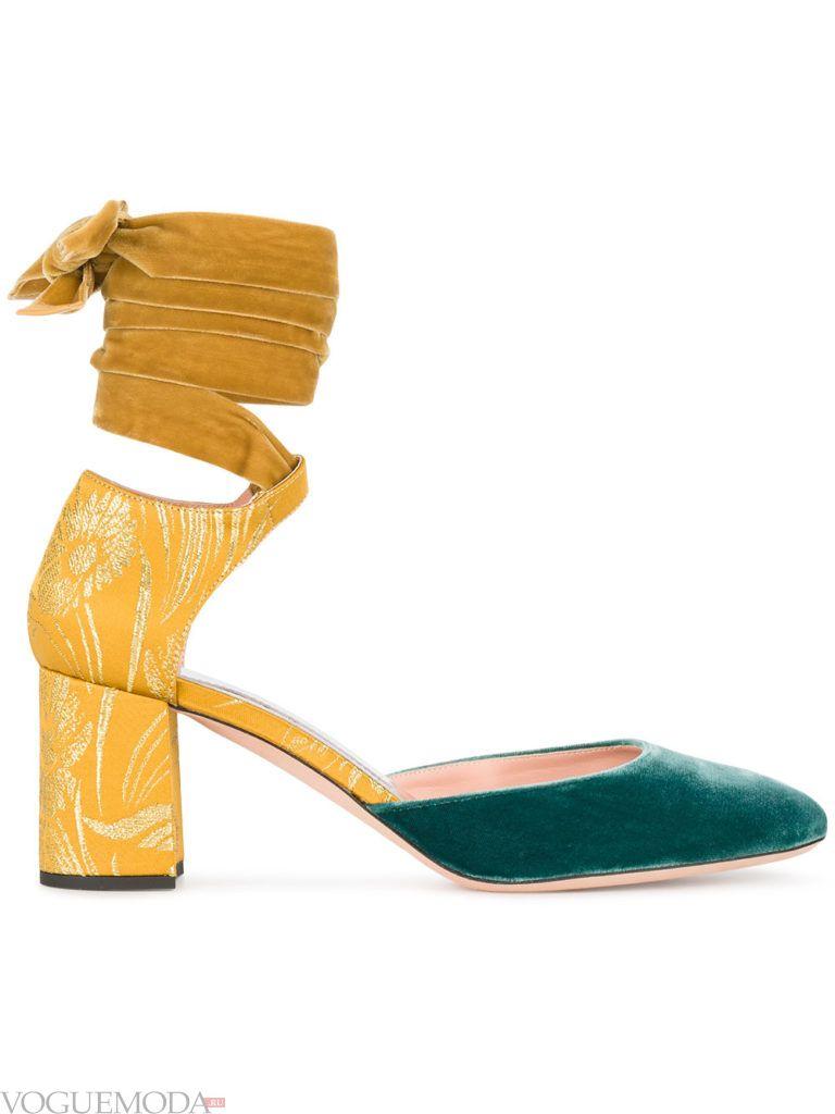 новогодние туфли цветные