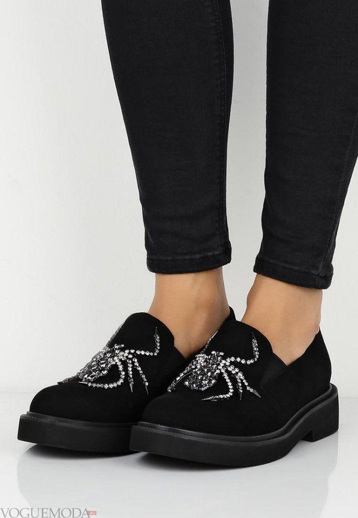 новая коллекция туфли с декором