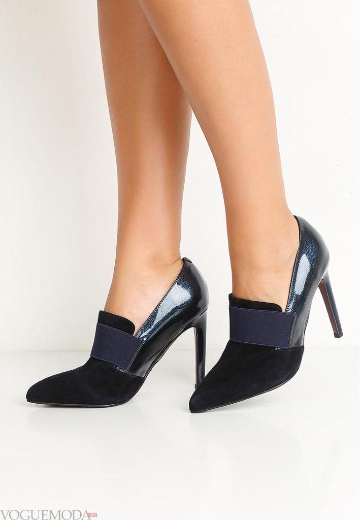 новая коллекция туфли комбинированные