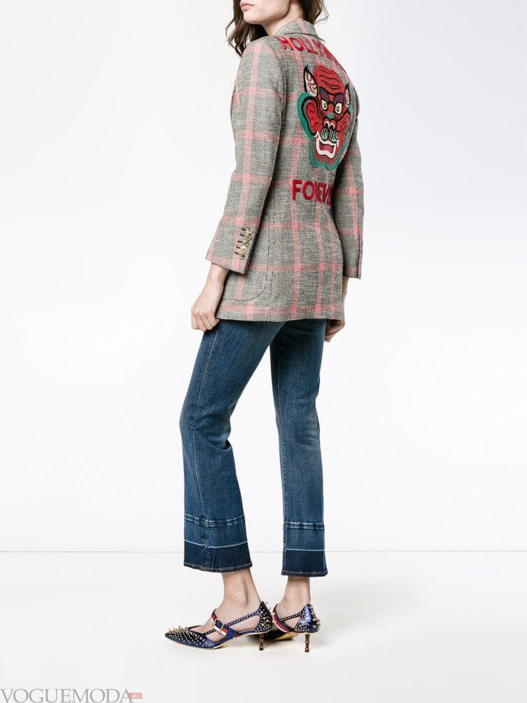 модный лук с пиджаком