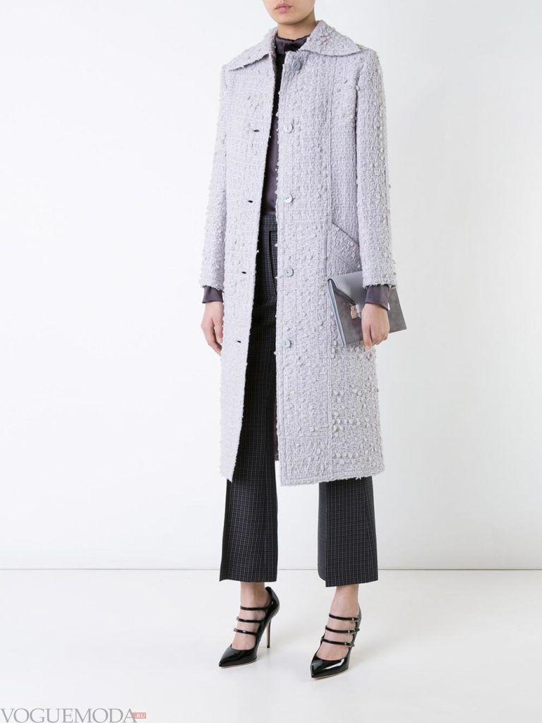 модное классическое цветное пальто