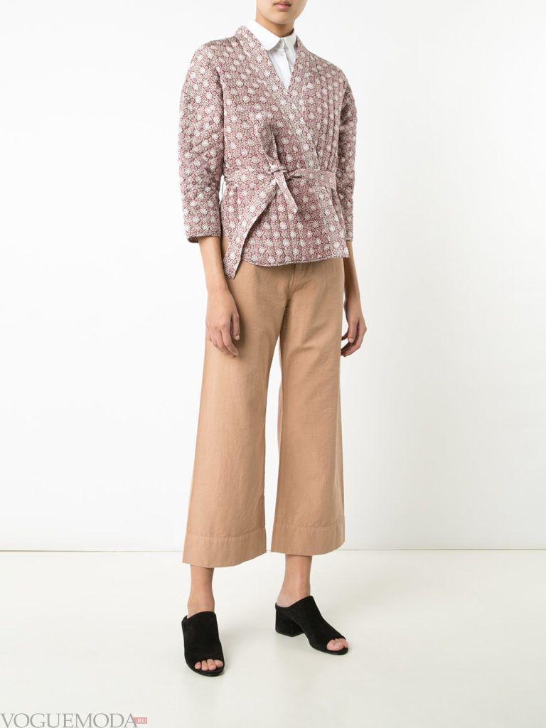 модный женский пиджак с принтом