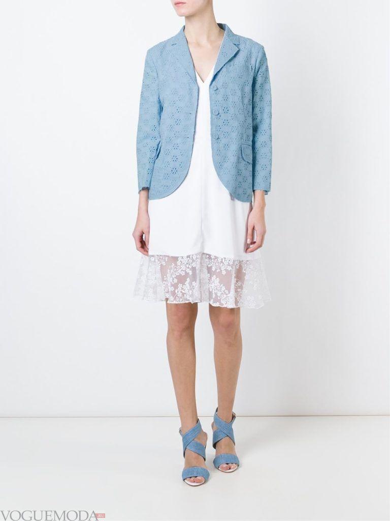 модный женский кружевной пиджак