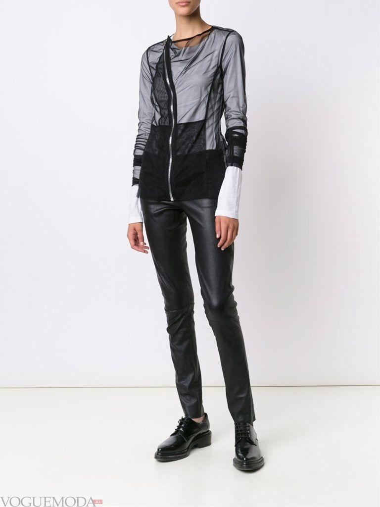 модный прозрачный пиджак
