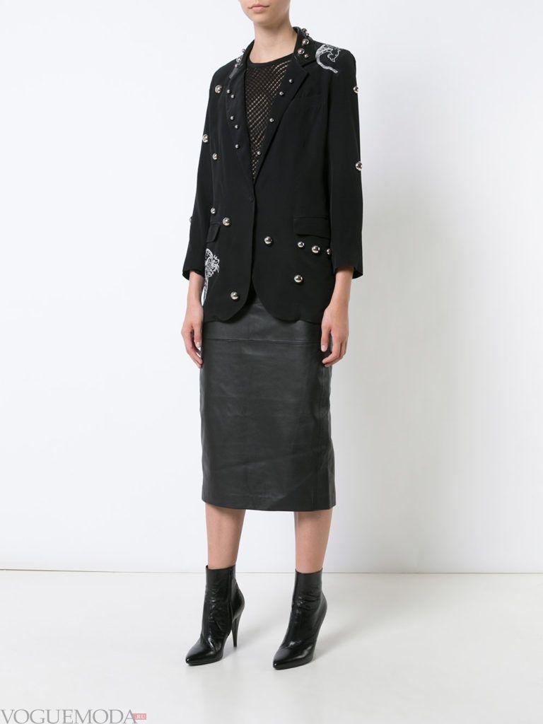 модный пиджак темный