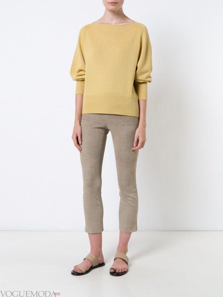 свитер спокойного тона