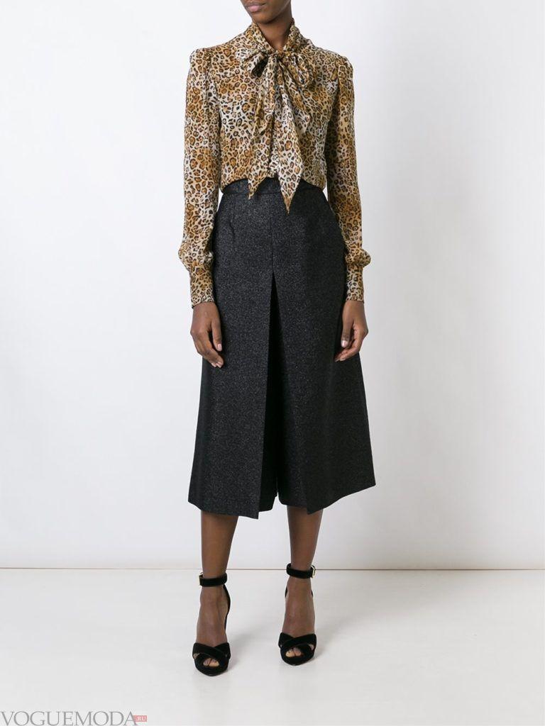 летняя блуза с животным принтом