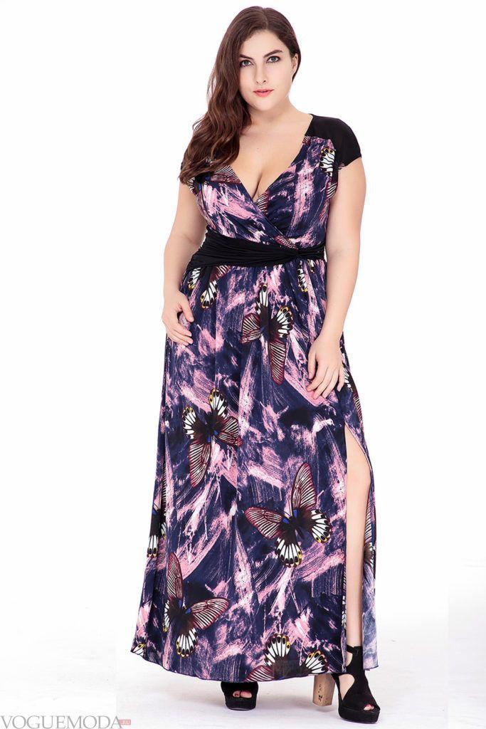 летнее платье с принтом красочные брызги