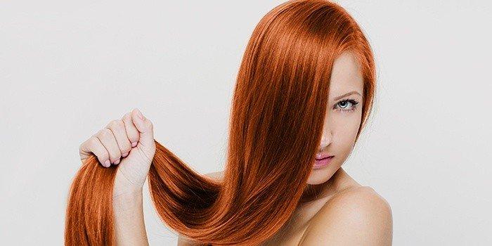 модное рыжие окрашивание волос