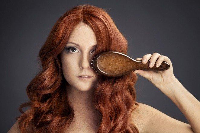 рыжее окрашивание волос