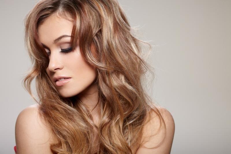 3d окрашивание на длинные волосы русое