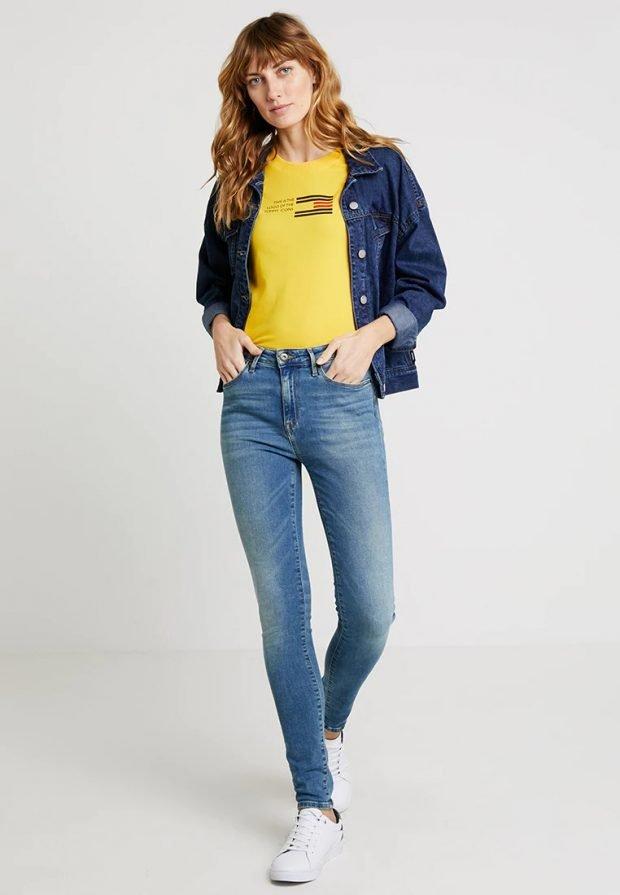 синяя джинсовка