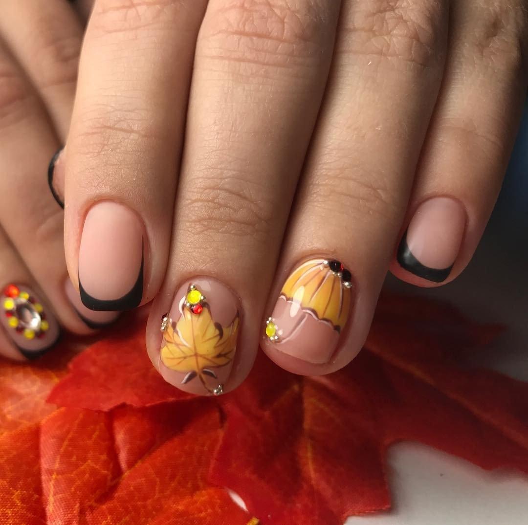 100 модных новинок: дизайн нарощенных ногтей 2018 на фото