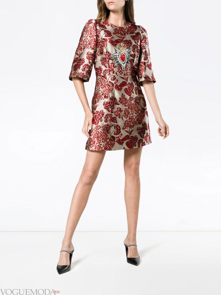 новогоднее платье короткое