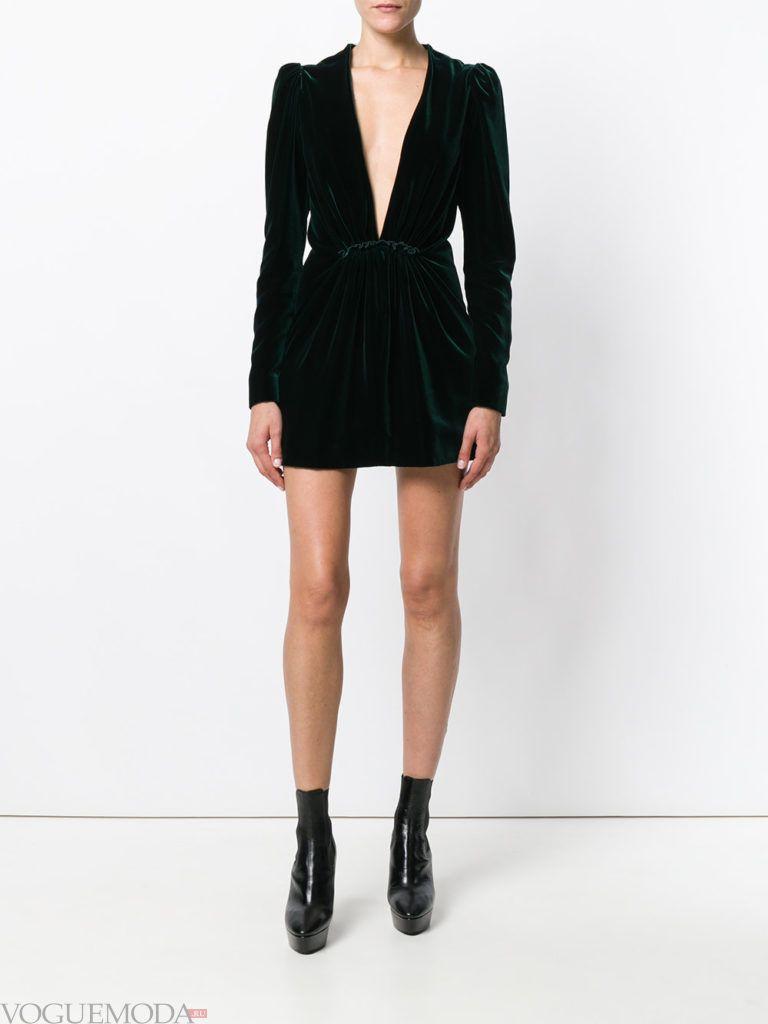новогоднее платье черное