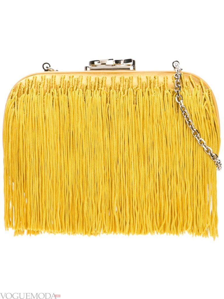 новогодняя сумочка с декором