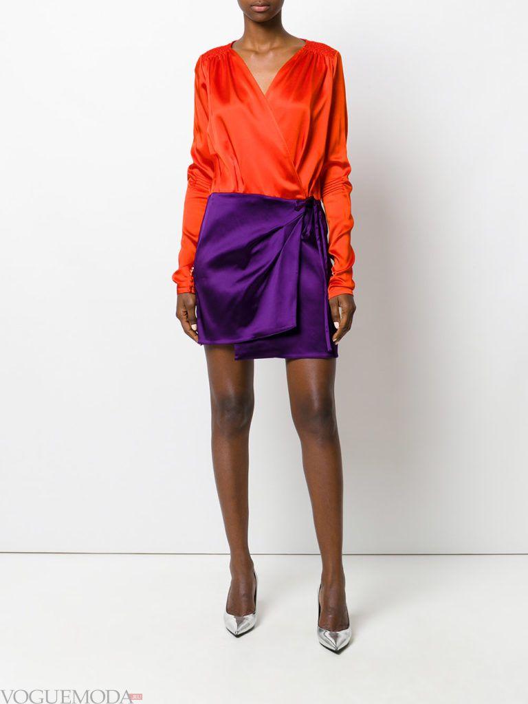 новогоднее платье двухцветное