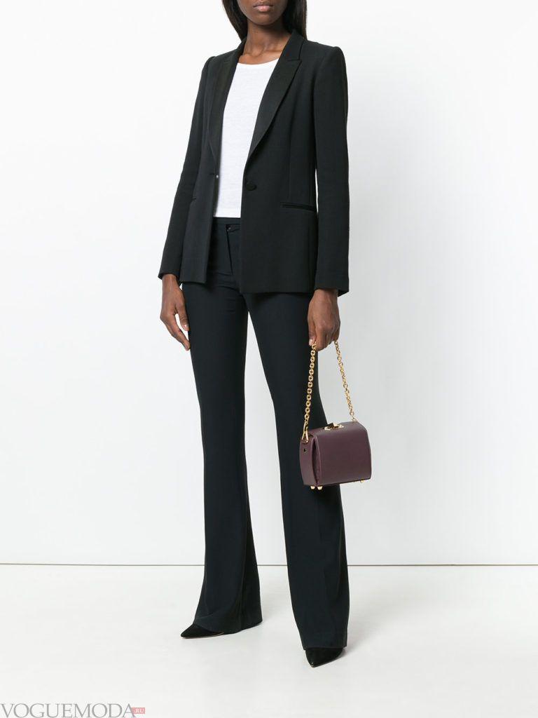 фиолетовая сумочка с костюмом