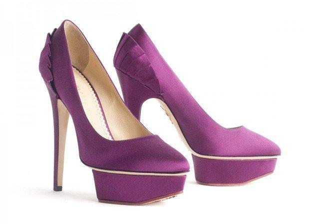 туфли на высоком каблуке замшевые