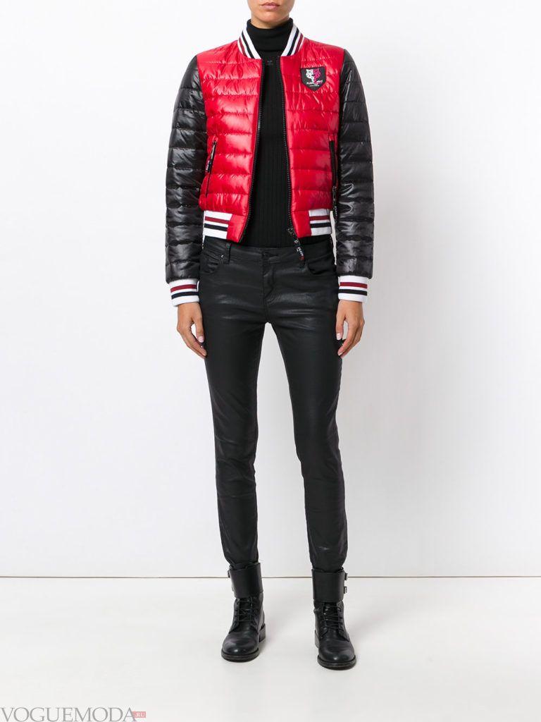 Женский спортивный стиль: куртка модная