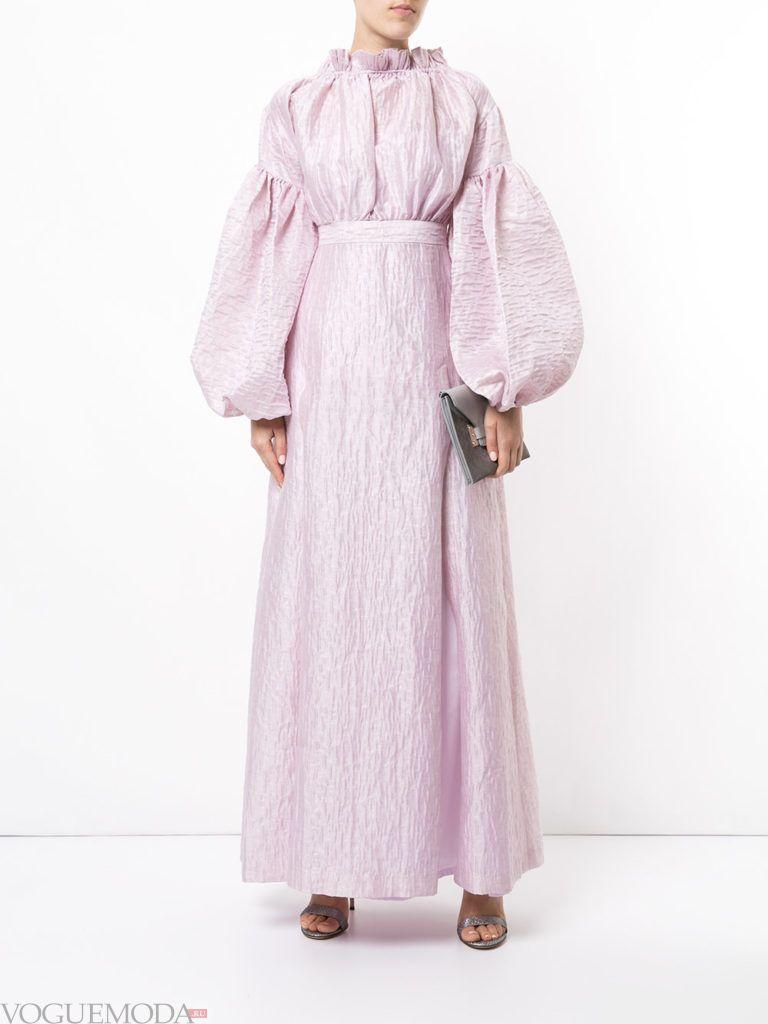 платье в викторианском стиле сиреневое