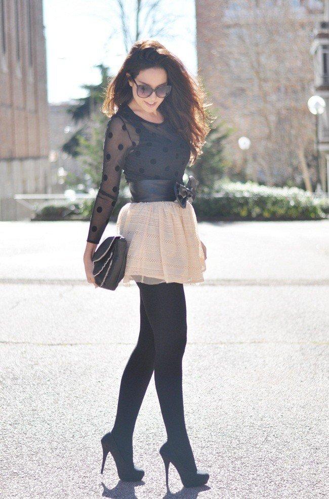 уличная мода ботфорты высокие