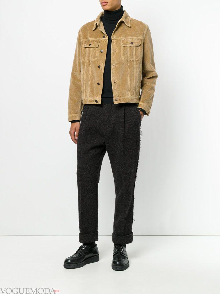 мужская уличная мода брюки