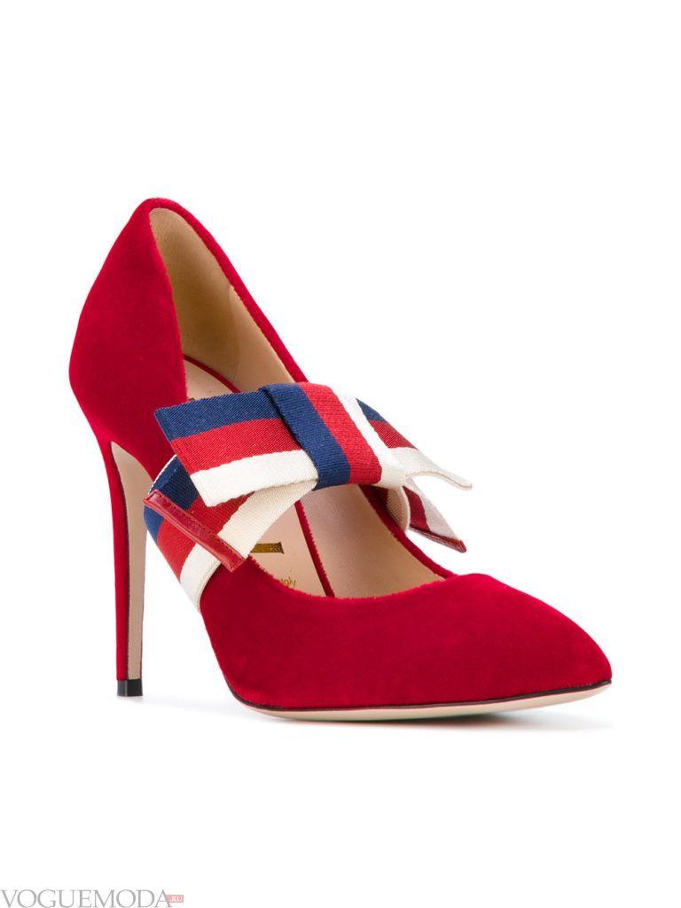 уличные модные туфли с декором